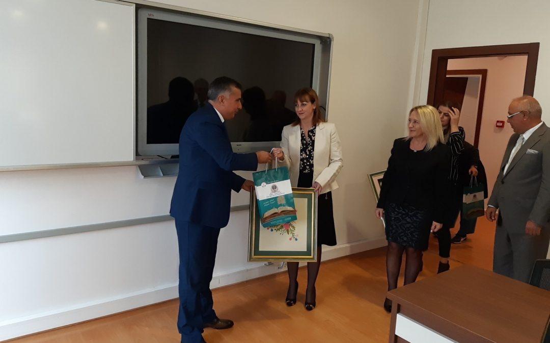Посета на Бурса и склучување меѓународен договор